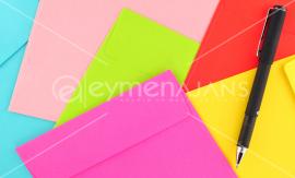 Özel Ebat Renkli Zarf